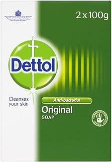 Dettol Antibacterial Soap Bar Original (2x100g) - Pack of 6