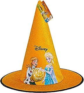 Ciao Chapeau cône de sorcière en tissu Disney La Reine des Neiges Halloween