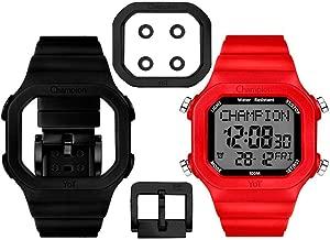 Relógio Champion YoT Troca Pulseira CP40180XBV Preto