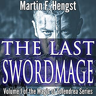 The Last Swordmage audiobook cover art