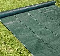 高密度135G 防草シート 1m×100m モスグリーン (UV剤入り/厚手・高耐久4-6年)