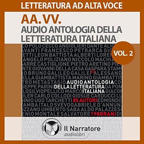 Audio Antologia della Letteratura Italiana Vol. 2 copertina