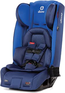 Diono 2020 Radian 3RXT, 4-in-1 Convertible, Extended Rear Facing, 10 Years 1 Car Seat, Fits 3 Across, Slim Fit Design, Blue Sky