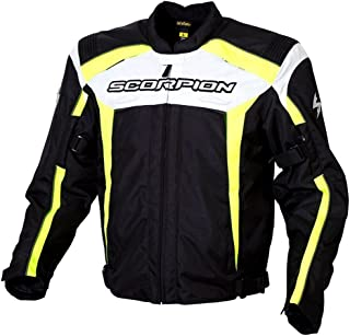 2013 Scorpion ExoWear Helix Motorcycle Jackets - Neon - Large