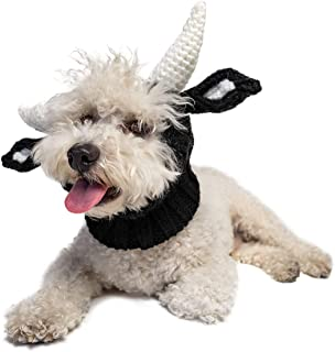 Zoo Snoods Bull Dog Costume - Neck and Ear Warmer Snood for Pets