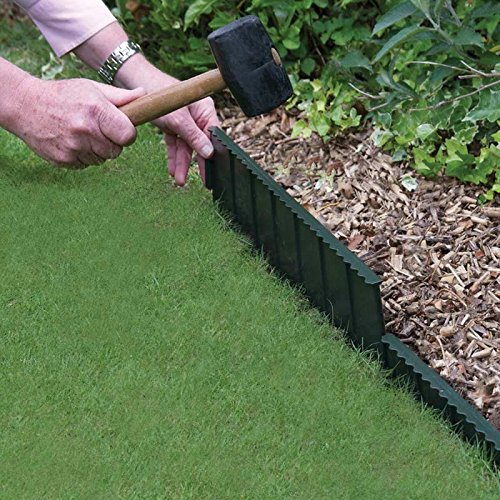 Bosmere Products Ltd Flexi Beeteinfassung für Rasen