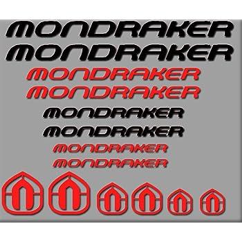 Ecoshirt DP-AF4W-81X0 Pegatinas Mondraker Bici R180 Stickers ...