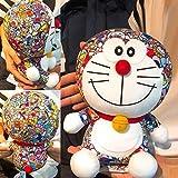 Mcottage Doraemon Juguete Muñeca de Peluche Rellena Color Impresión Girasol Infantil Felpa Juguetes Muñecas