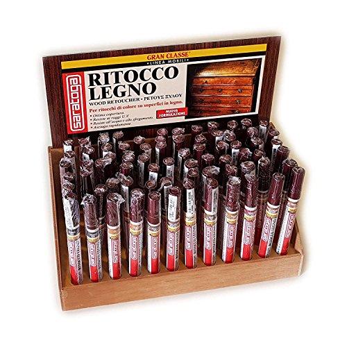 Saratoga RITOCCO LEGNO 10ML pennarello paint marker colore Noce scuro