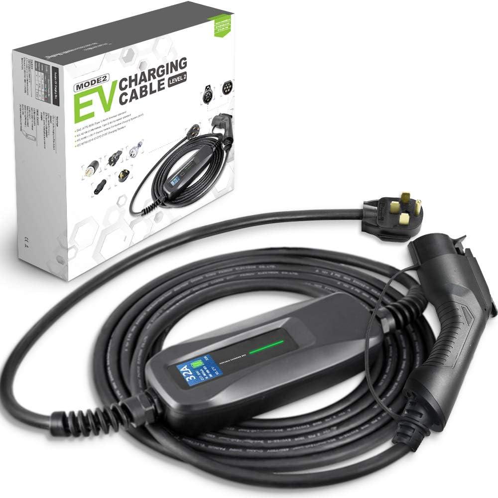Morec EV trust Charger 32 Amp NEMA14-50 Le ev SAE Cable San Antonio Mall J1772 Charging