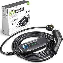 Morec 32 Amp EV Charger Level 2, NEMA14-50 26ft 220V-240V Upgraded Portable EV Charging Cable Station, Electric Vehicle Ch...