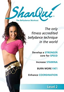 SharQui - The bellydance workout Level 2 for Intermediates: A Complete How-To Belly Dance for Fitness