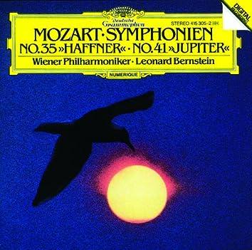 モーツァルト:交響曲第35番《ハフナー》・第41番《ジュピター》