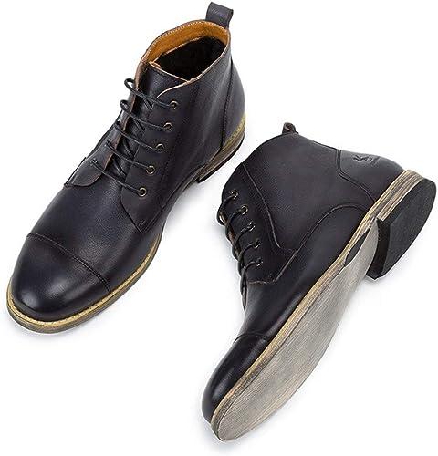 botas Martin de Cuero para hombres botas de Material de Forro de Lana para Hombre botas de Tobillo para Hombre Hechas a Mano de Inglaterra para Ayudar .zapatos de Moda