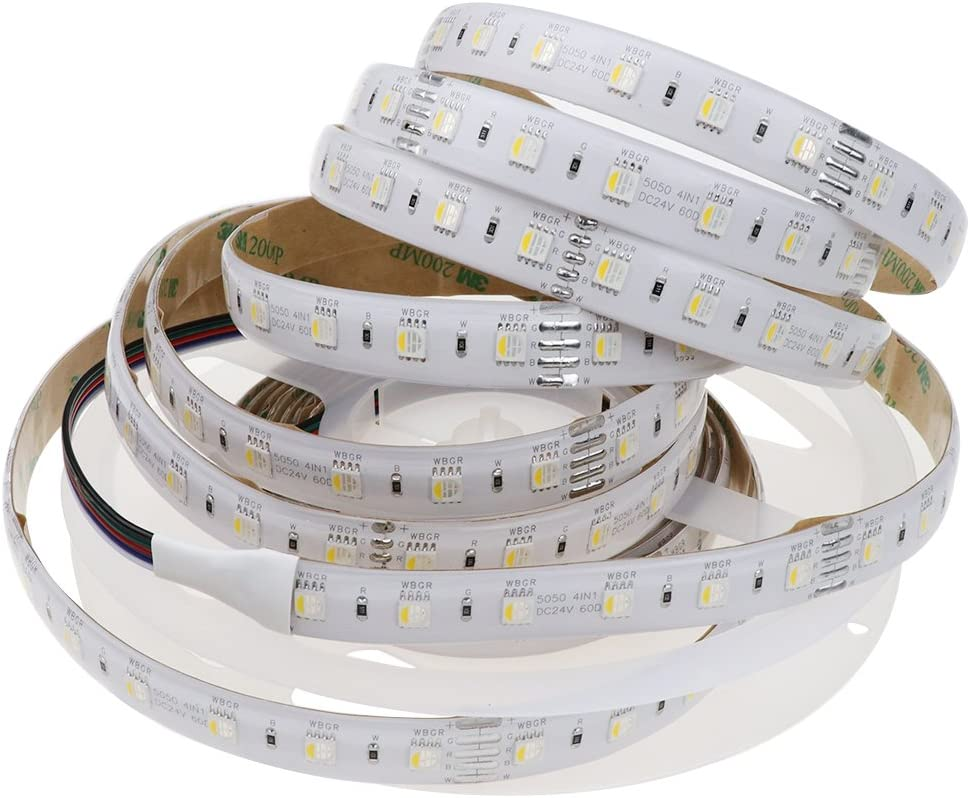 LEDENET Los Angeles Limited Special Price Mall RGBWW LED Strip 4 Colors in 5050 RGB SMD 1