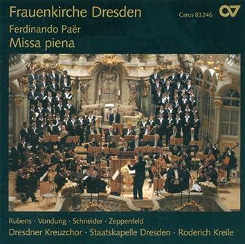 Paer, F.: Missa Piena in D Minor