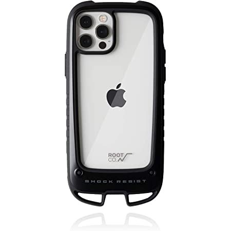 【ROOT CO.】[iPhone 12/12 Pro専用]ROOT CO. GRAVITY Shock Resist Case +Hold.(ブラック)