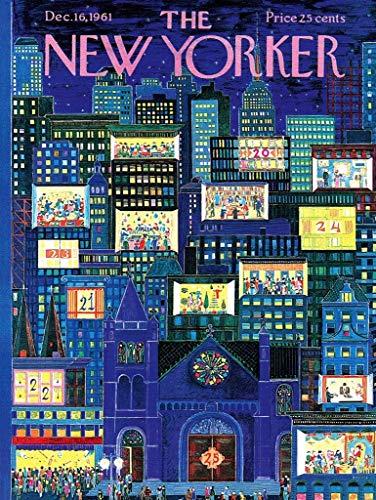 New York Puzzle Company - New Yorker City Advent Calendar - 1000 Piece Jigsaw Puzzle