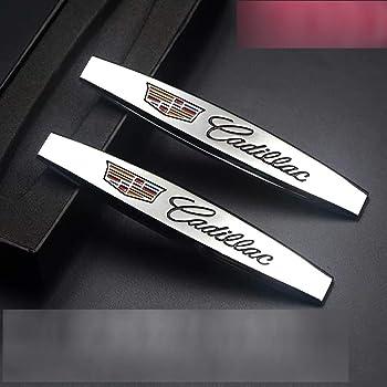 4Pcs Car Side Fender Decoration Sticker Car Fender Trim Accessories For Cadillac XT4 XT5 XT6 CT5 CT6 XT4 XTS SRX