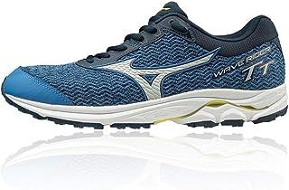 comprar comparacion Mizuno Wave Rider TT Neutralschuh Herren - Blau, Dunkelblau, Zapatillas de Running Calzado Neutro para Hombre