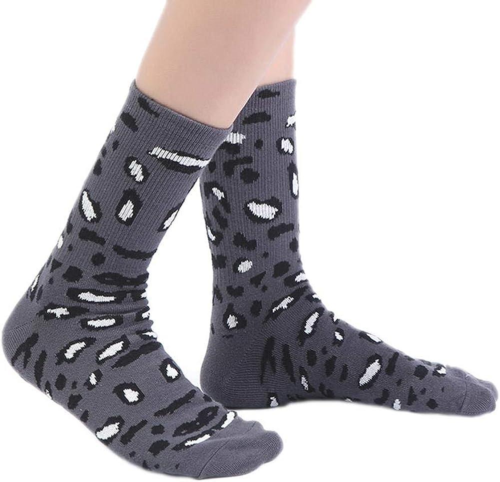 Da.Wa 1 pair Floor Socks Winter Warm Non-slip Thermal Slippers Socks Woman Christmas Thick Home Socks SIZE-1 Style D