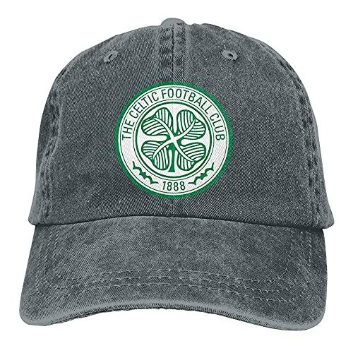 Glasgow Celtic Vintage Shield Men's Baseball Caps Athletic Relaxed Adjustable Cowboy Hat Performance Caps Navy
