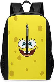 Laptop Backpack Spongebob-squarepants-phone-wallpaper Large Computer Backpack School Travel Backpack Casual Daypack For Women/Men