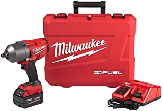 Milwaukee M18 FUEL 18-Volt Lithium-Ion Brushless Cordless 1/2 in. Impact Wrench with..