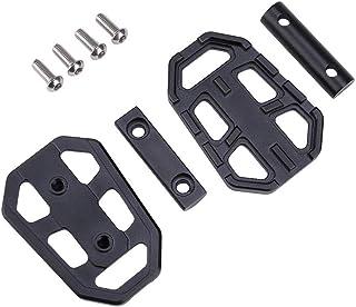 Wang shufang 1pair Moto billettes Large Pied Pegs pédales Rest Repose-Pieds CNC Fit for R1200GS R1250GS R1200 GS R 1200 GS...