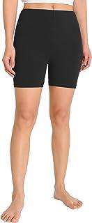Weintee Women's Jersey Cotton Bike Shorts