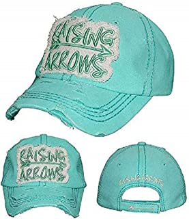 YK001 Lord Have Mercy Blue Green Washed Vintage Baseball Cap.