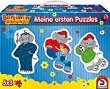 Schmidt Spiele 56180Benjamin, Il Mio Primo Puzzle Contorno Puzzles im valigette, 5X 3