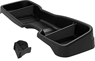 oEdRo Under Seat Storage Compatible with Chevrolet Silverado/GMC Sierra 2014-2018 LD Crew Cab & 2015-2019 HD Crew Cab