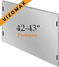 42-43 pulgadas Vizomax protector de pantalla de la televisor LCD LED Plasma HDTV. TV Screen Protector Cover Guard Shield