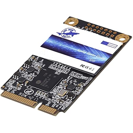 Dogfish Msata SSD 500GB 内蔵型 ミニ ハードディスク SSD Disk Solid State Drive (500GB, MSATA)