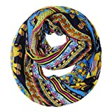 Tribal Lucky Elephant Scarf Infinity Loop Circle Scarf Tube Scarves Collection