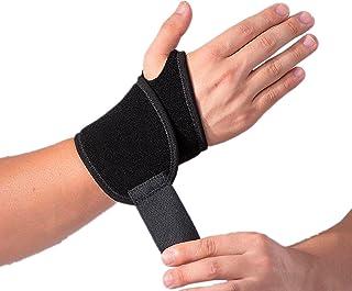 2 بسته قابل تنظیم پشتیبانی مچ دست ، مچ بند ، بندهای مچ دست ، بسته بندی مچ دست ، پشتیبانی از دست برای تسکین درد آرتروز و التهاب مفاصل - مناسب برای دست راست و چپ
