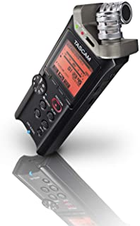 Tascam DR-22WL Portable Handheld Audio Recorder with WiFi,Black