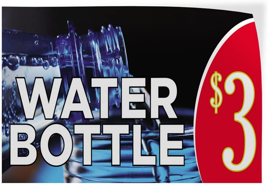 Decal Stickers Multiple Save money Clearance SALE! Limited time! Sizes Water Advertising Bottle Outdoor P