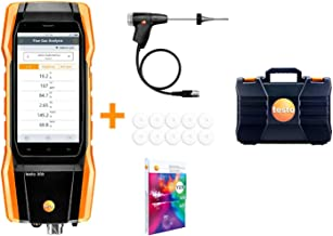 Testo 300 Commercial Combustion Analyzer with Hard case with O2 and CO 0-4,000