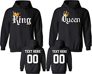 customized couple sweatshirts