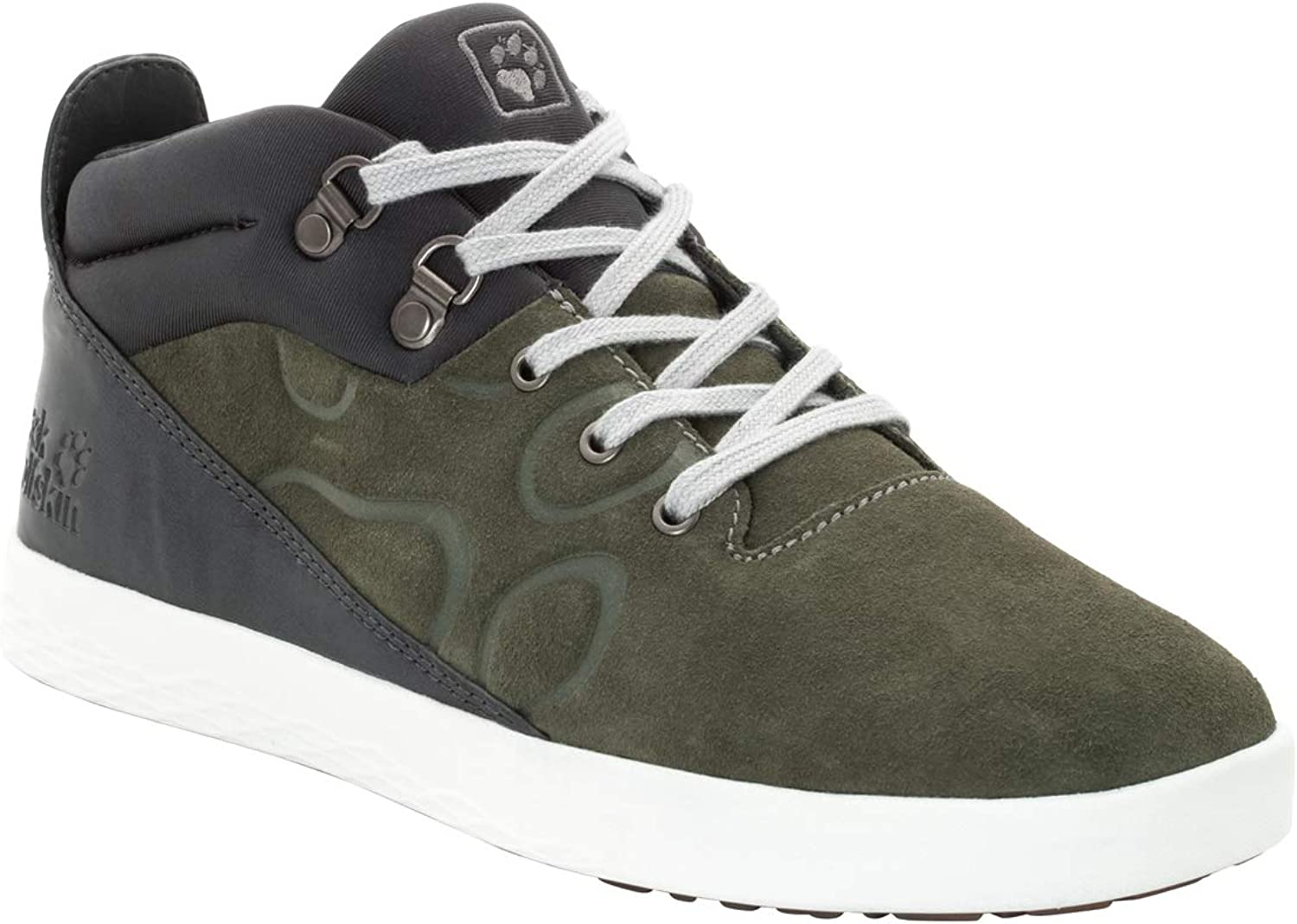 Jack Wolfskin Men's Auckland MID Men's Casual mid top Sneakers shoes