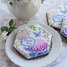 Thank You Prettier Plaques Cookie Stencil Set by Julia Usher