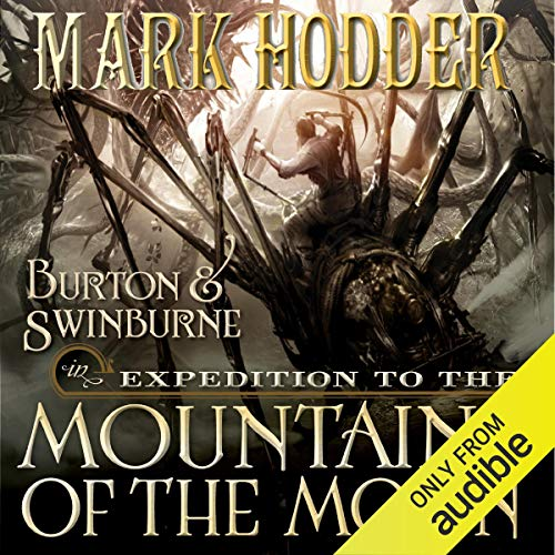 Expedition to the Mountains of the Moon audiobook cover art