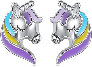 Best unicorn earrings sterling silver Reviews