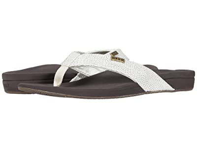 Reef Ortho-Spring (Brown/White) Women