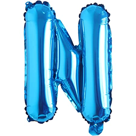 Amazon Com 16 Inch Single Blue Alphabet Letter Number Balloons Aluminum Hanging Foil Film Balloon Wedding Birthday Party Decoration Banner Air Mylar Balloons 16 Inch Pure Blue N Health Personal Care