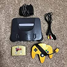 Nintendo 64 N64 Bundle with Zelda Ocarina of Time