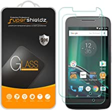 (2 Pack) Supershieldz for Motorola Moto G4 Play and Moto G Play (4th Generation) Tempered Glass Screen Protector, Anti Scratch, Bubble Free