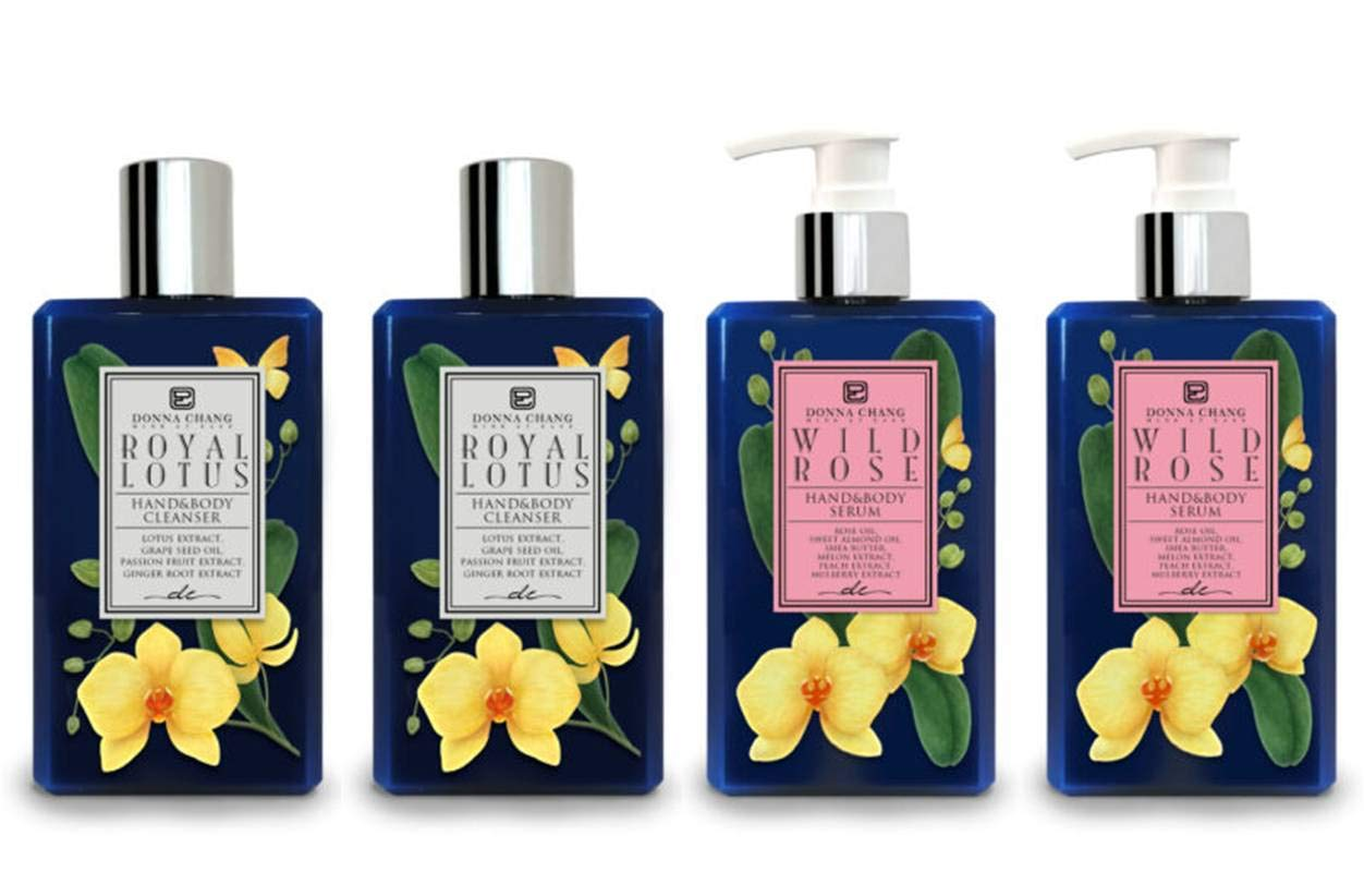 Donna Chang Royal Lotus Shower Gel and Wild - Rose Serum All stores are sold Se Body Max 60% OFF